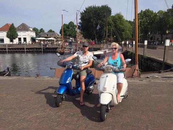 Gasten - Veluwe Vespa Tours Veluwemeer route (1)